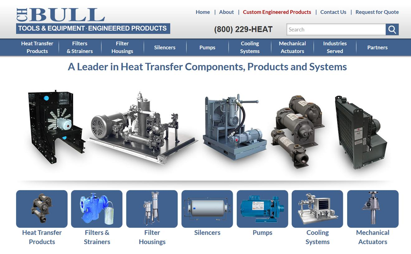 C H Bull Heat Transfer Solutions
